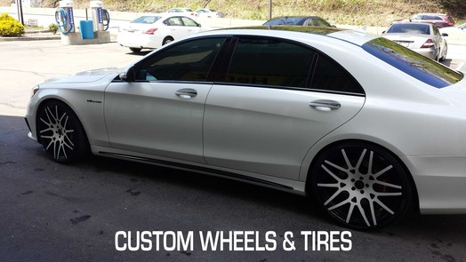 Custom Wheels and Tires installed in Pittsburgh