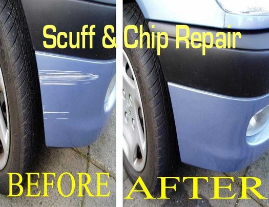 Scuff and Chip Repair in Pittsburgh