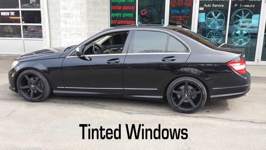 Window Tinting in Pittsburgh